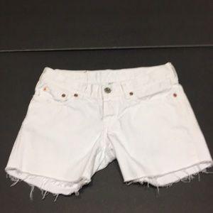 Lucky brand cut off jean shorts